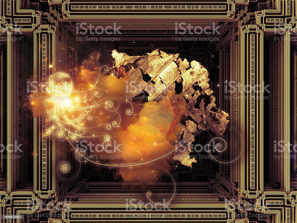 Cubic Design royalty-free stock photo