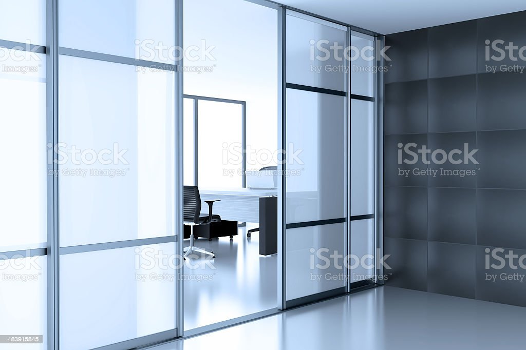 cubicle stock photo