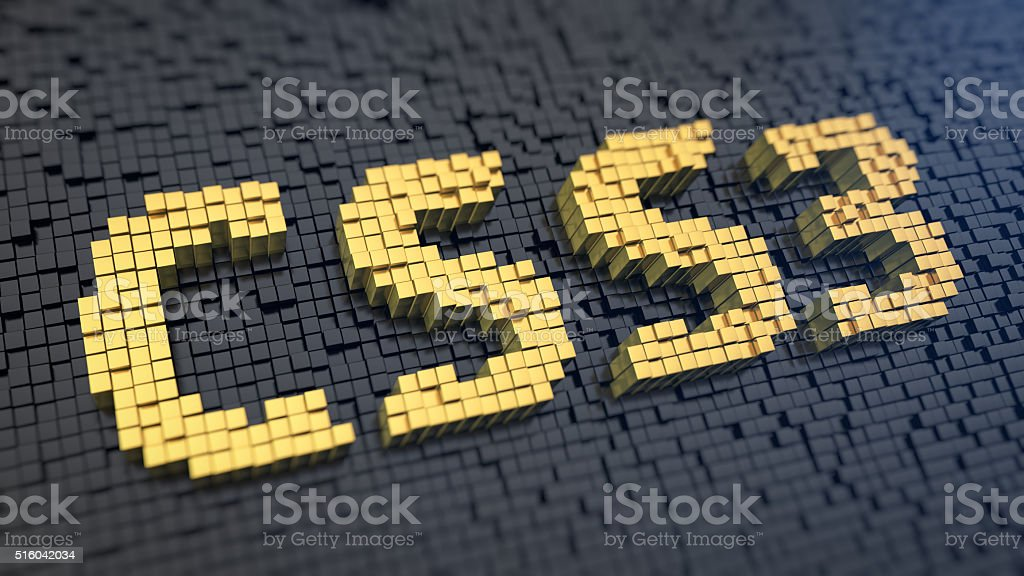 CSS3 cubics stock photo