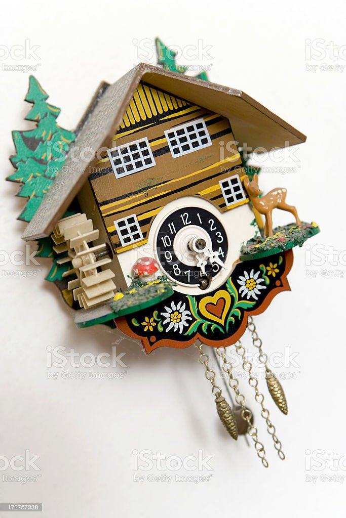 cuckoo clock royalty-free stock photo