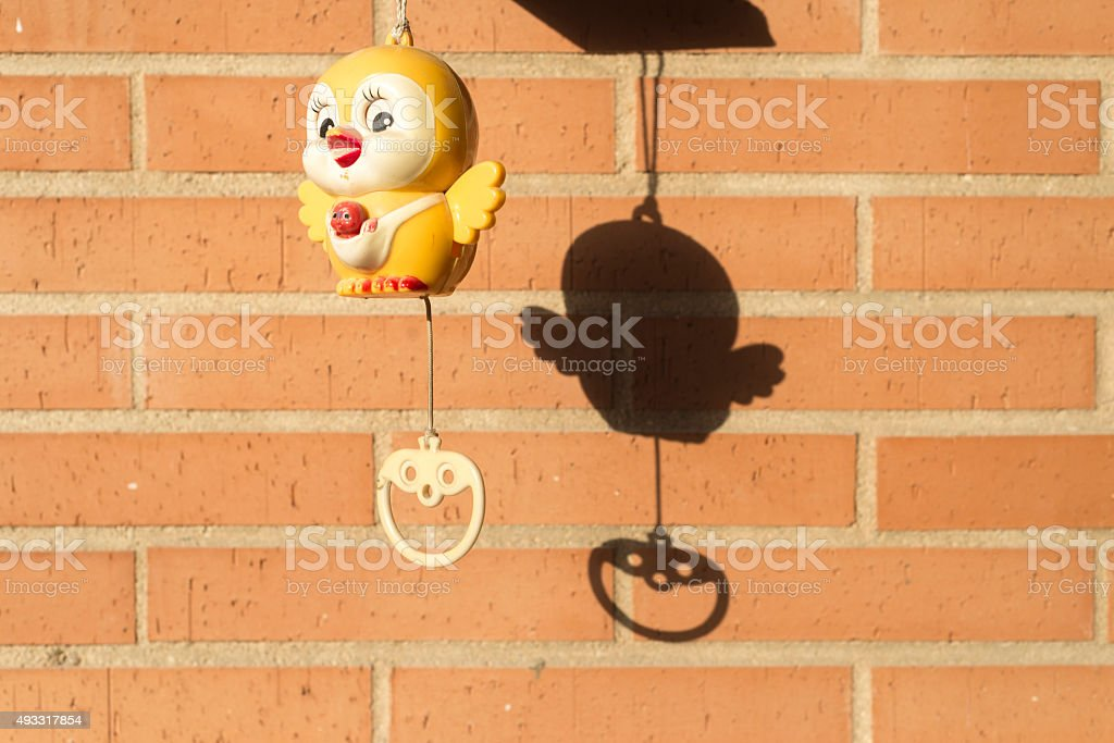 Cuckoo clock Toy for babys stock photo