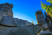 Cuckoo rocks in the Karkonosze National Park.