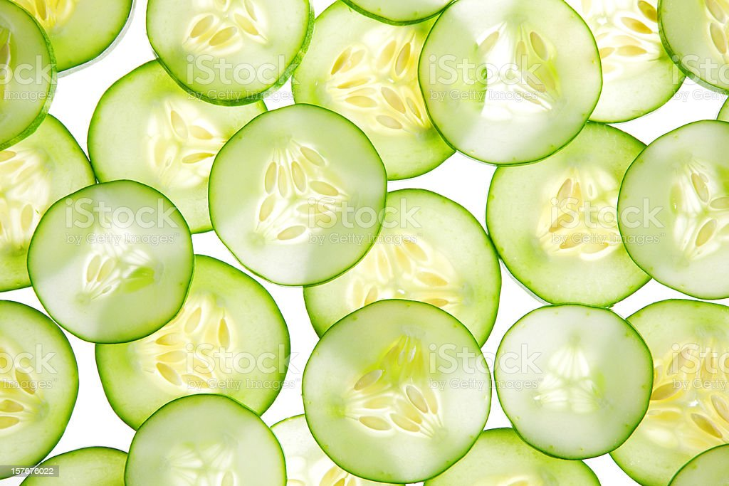 cucumber background royalty-free stock photo