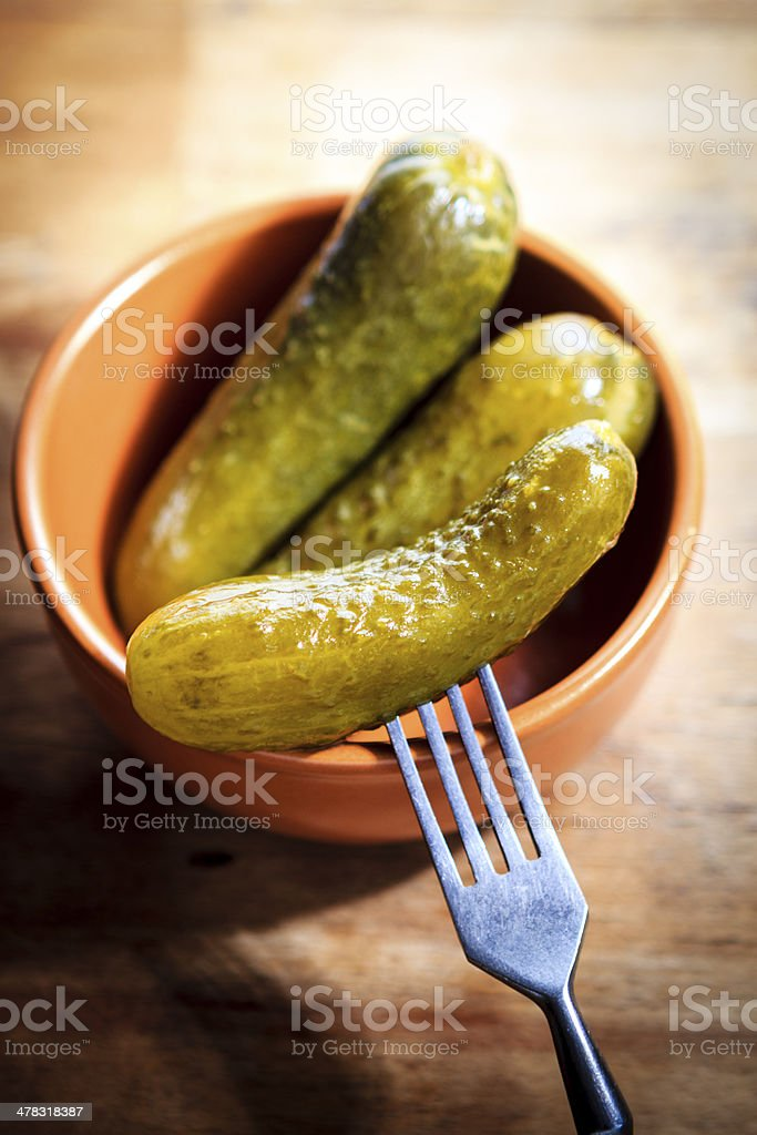 Cucumber Pickled royalty-free stock photo