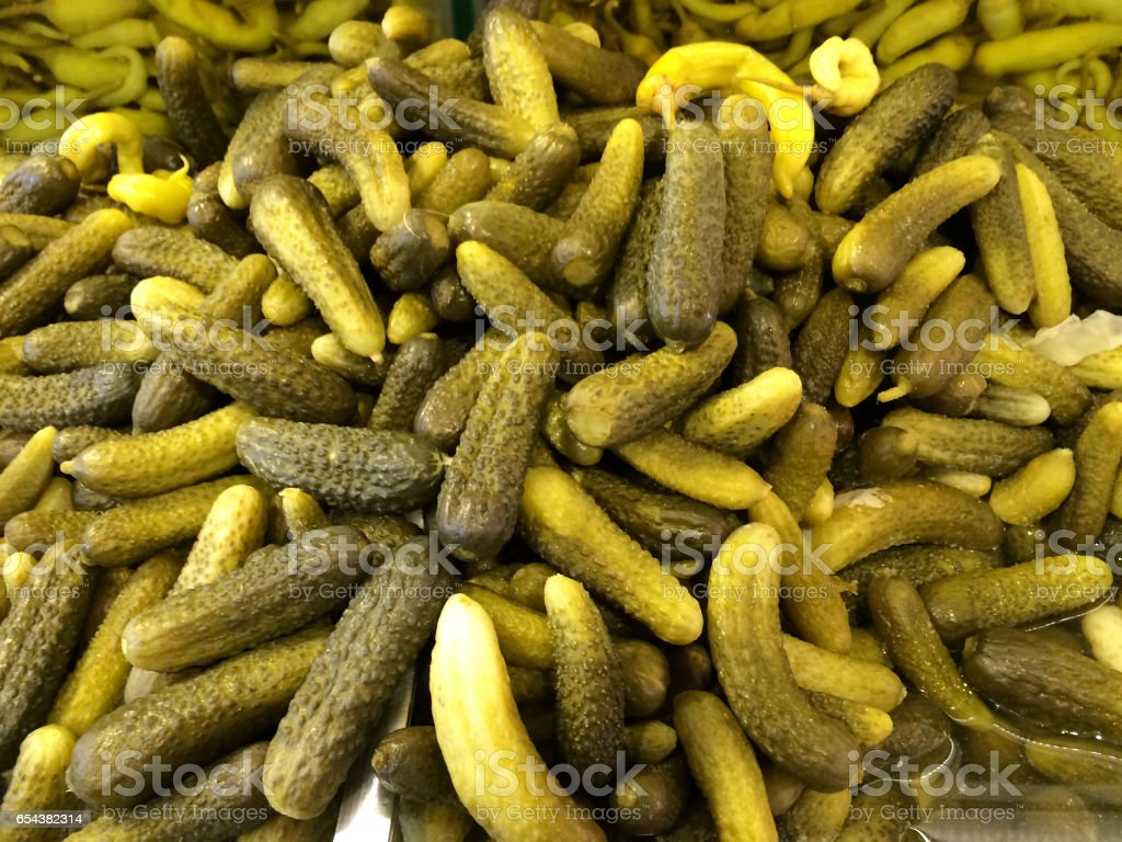 Cucumber Pickles stock photo