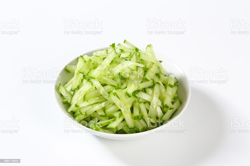 cucumber salad royalty-free stock photo