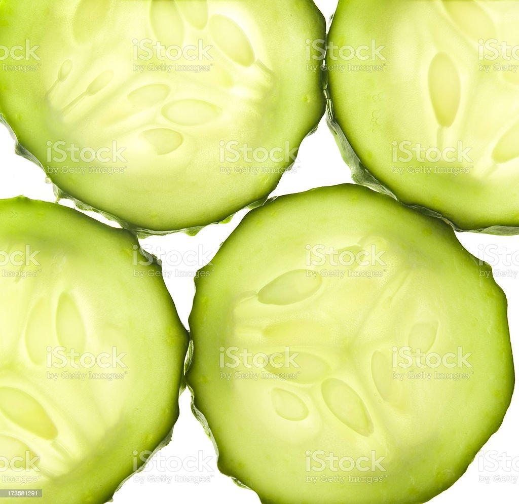 Cucumbers Fresh stock photo