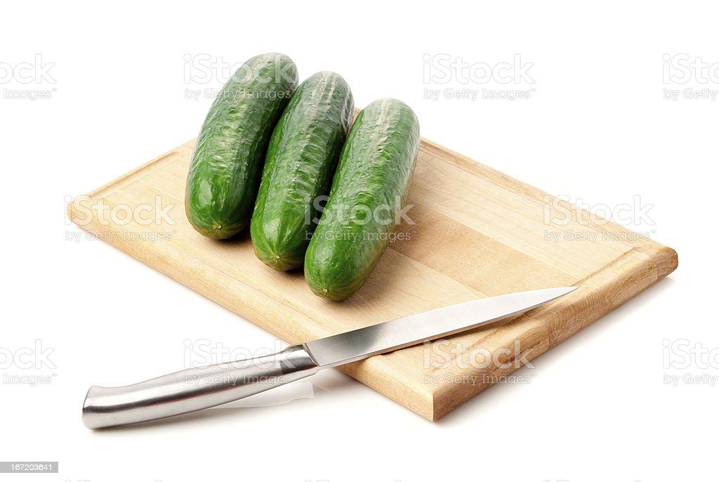 cucumbers royalty-free stock photo