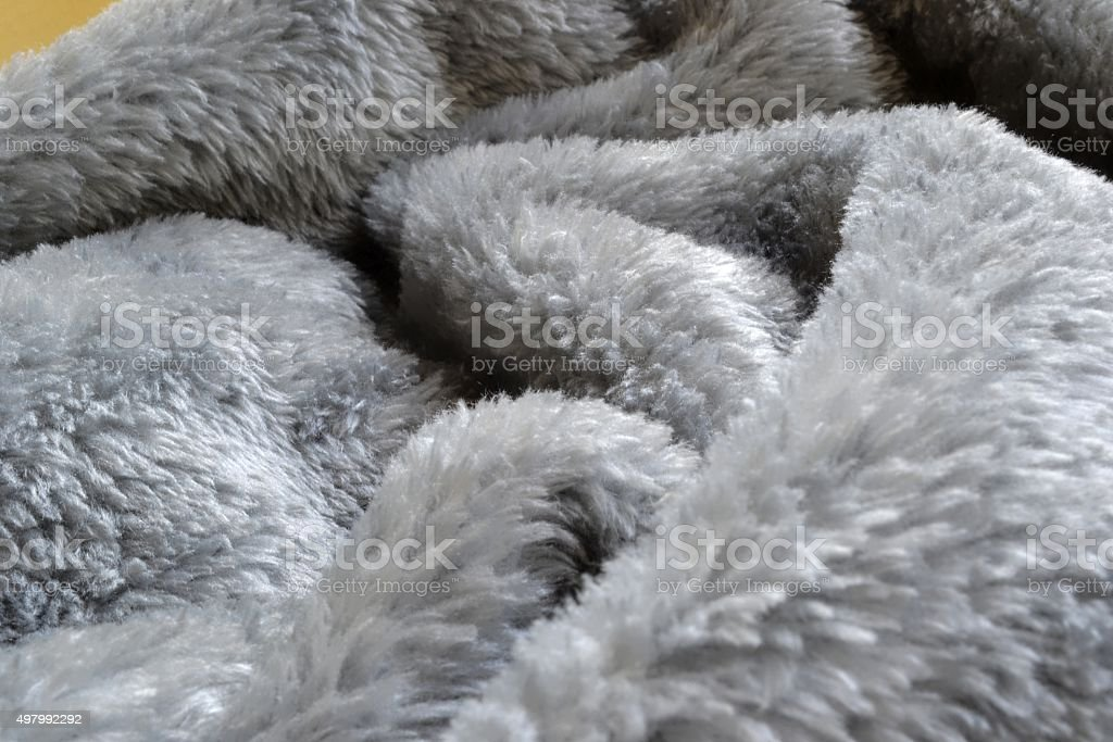 cuddle blanket stock photo