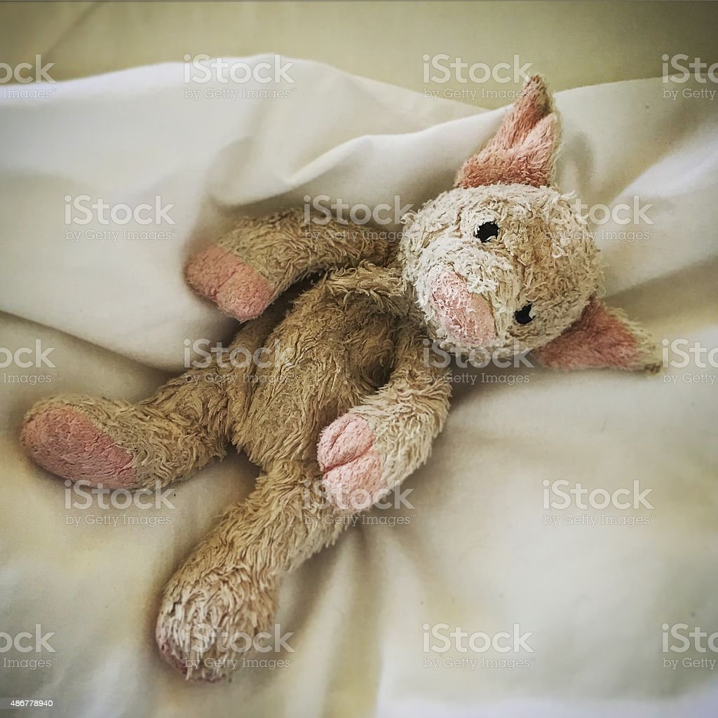 Cuddly toy stock photo