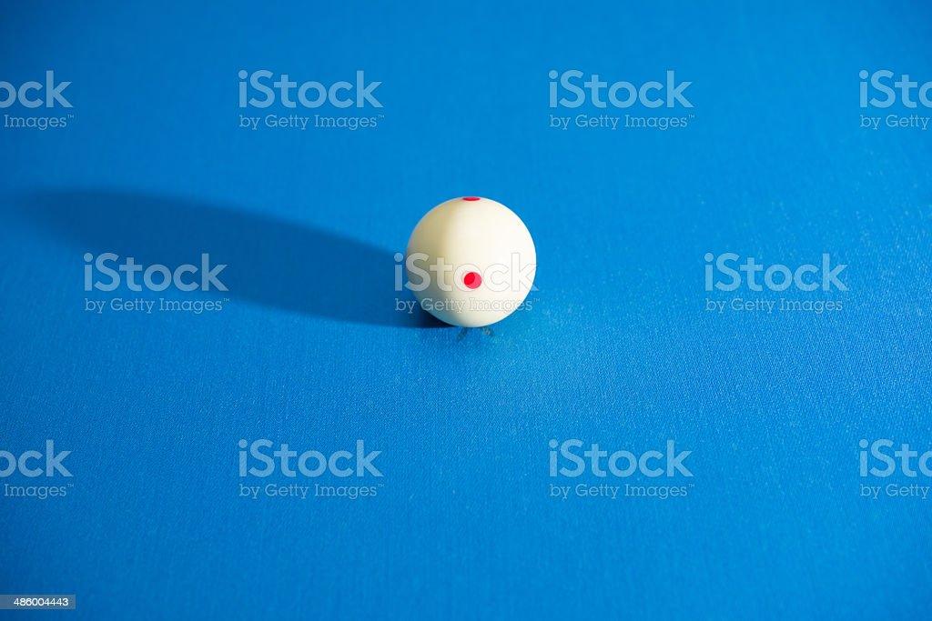 Cue Ball stock photo