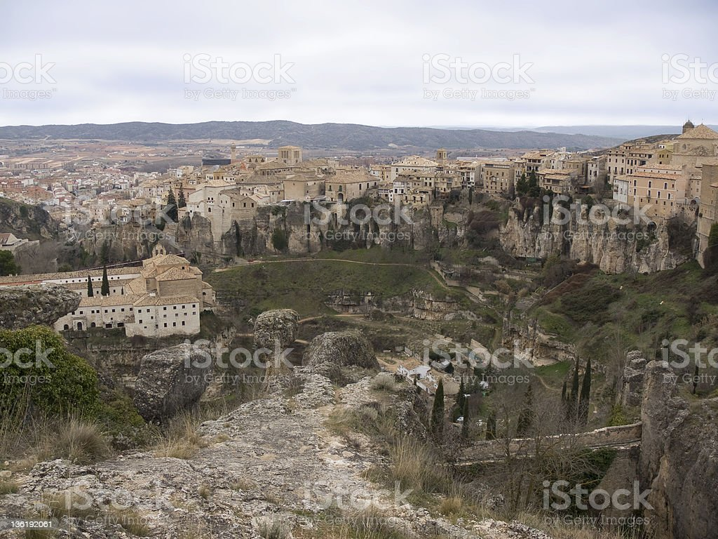 Cuenca Castilla La Mancha Spain royalty-free stock photo