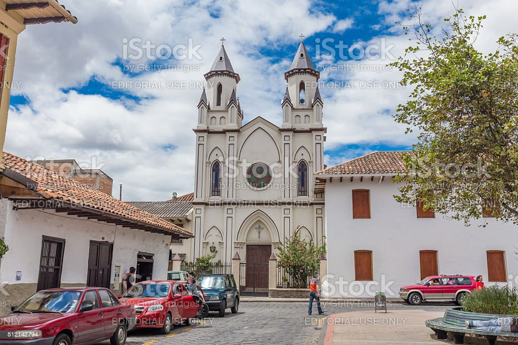 Cuenca stock photo