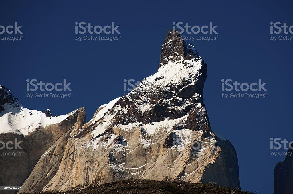 Cuerno Principal peak royalty-free stock photo