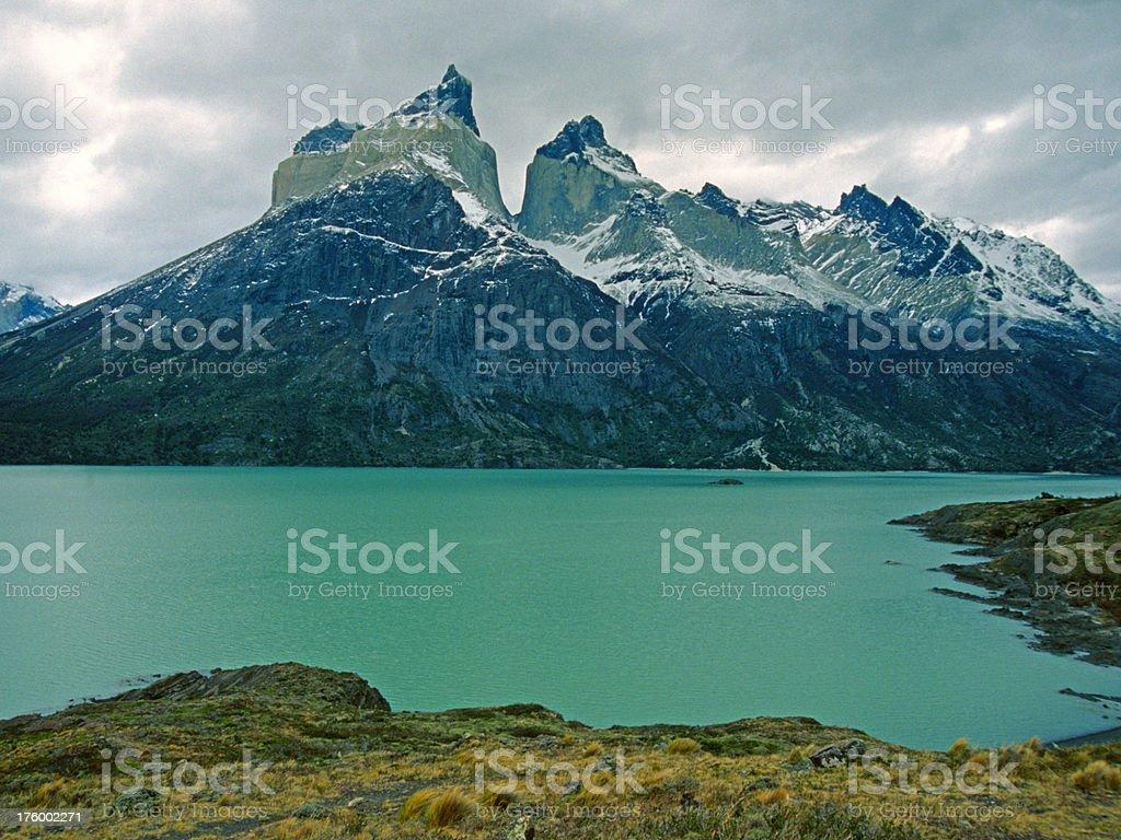 Cuernos del Paine royalty-free stock photo