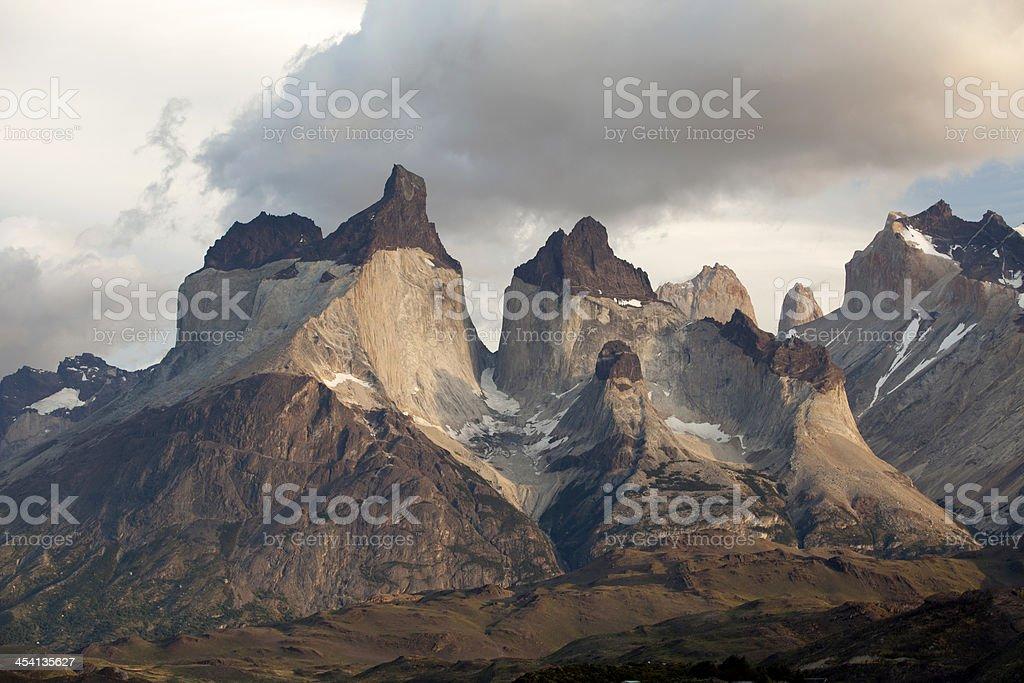 Cuernos del Paine stock photo