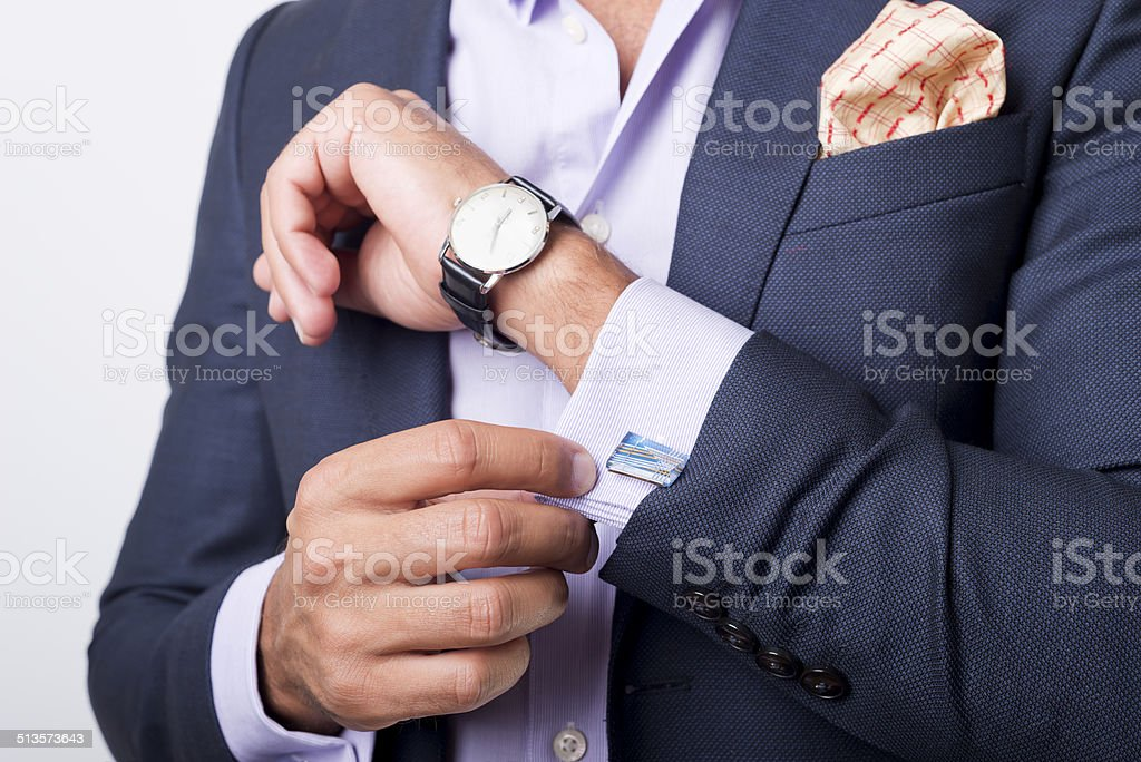 cuffs stock photo