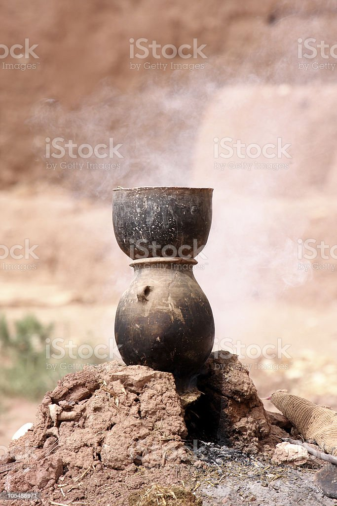 cuisine marocaine stock photo