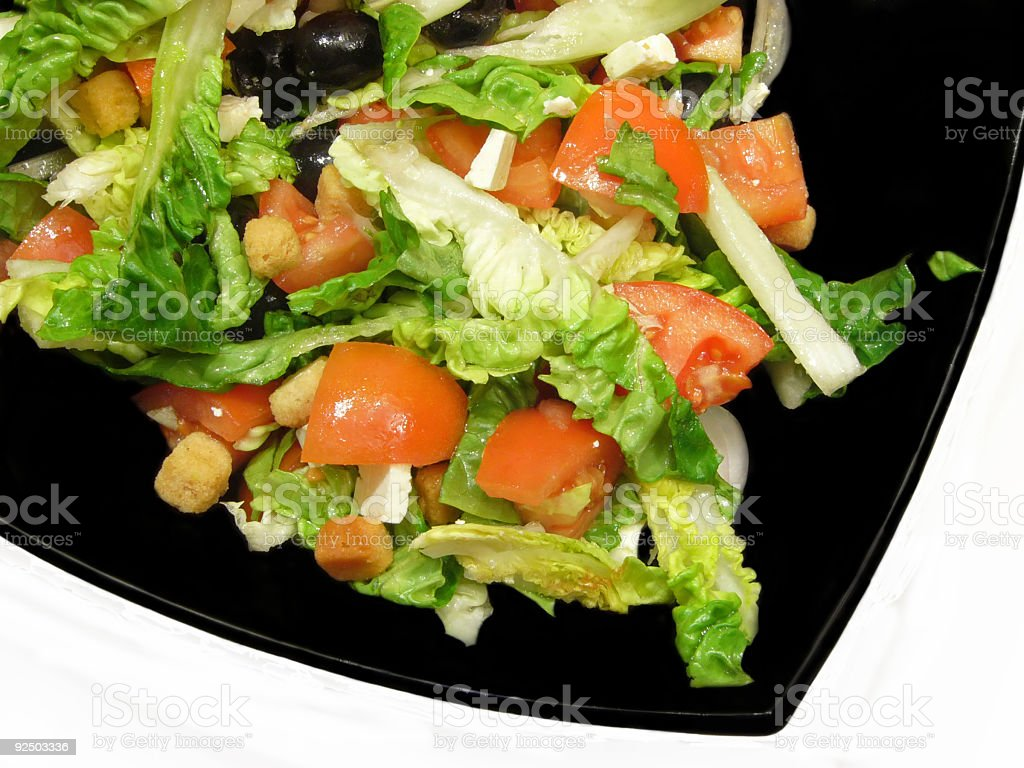 Cuisine. Salad 2 royalty-free stock photo