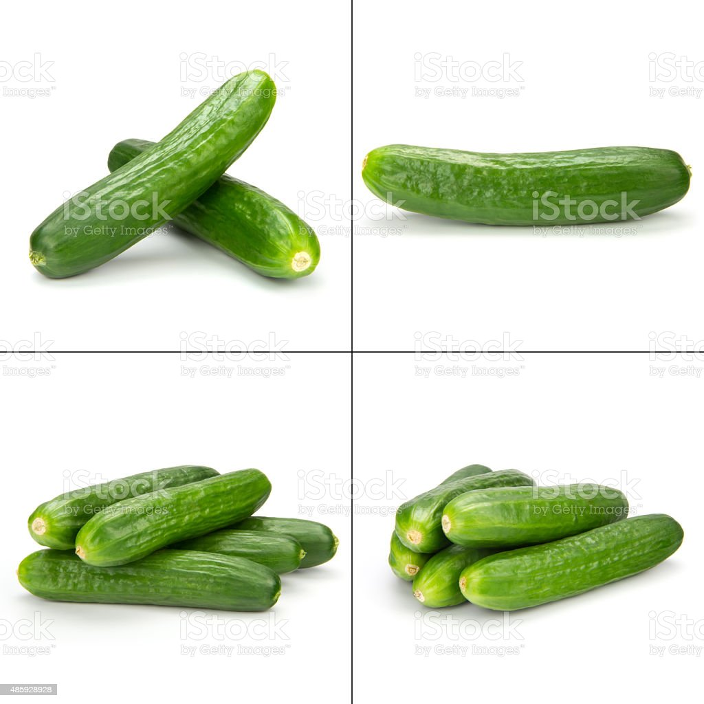 cuke collection stock photo