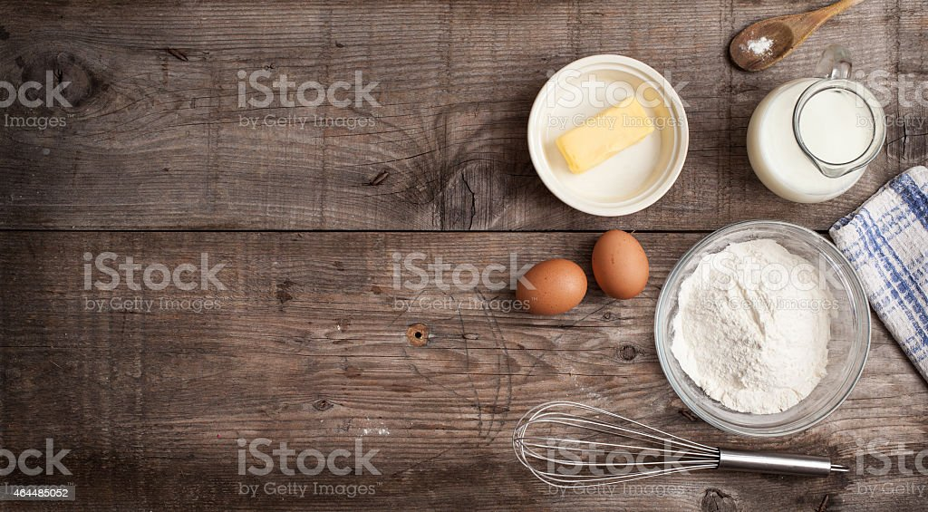 Culinary background stock photo