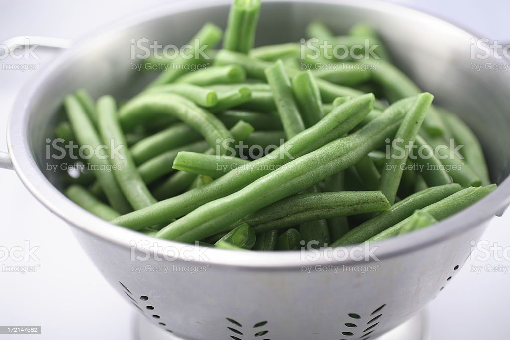 Culinary: Green Beans royalty-free stock photo