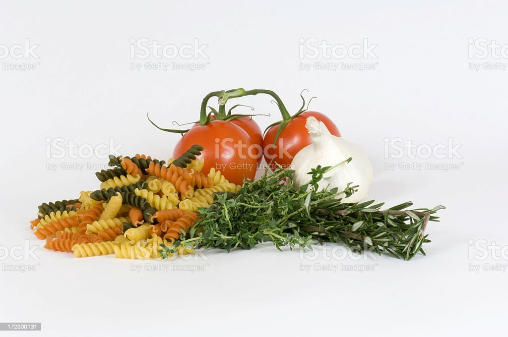 Culinary image of fresh ingredients to cook with royalty-free stock photo