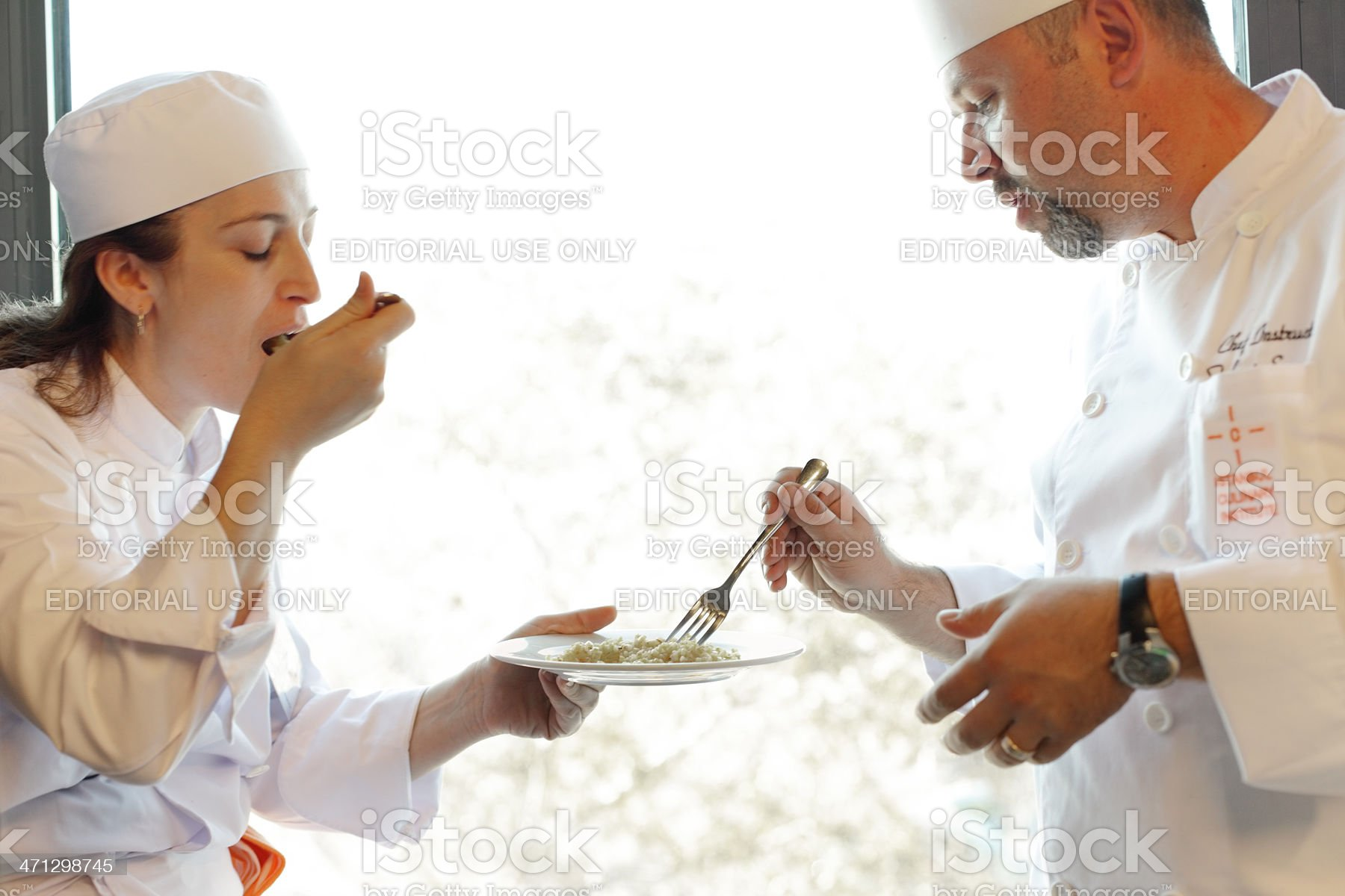 Culinary Institute, Istanbul, Turkey royalty-free stock photo