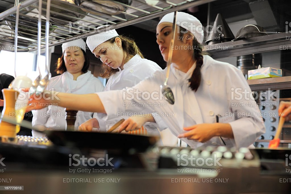 Culinary Institute stock photo