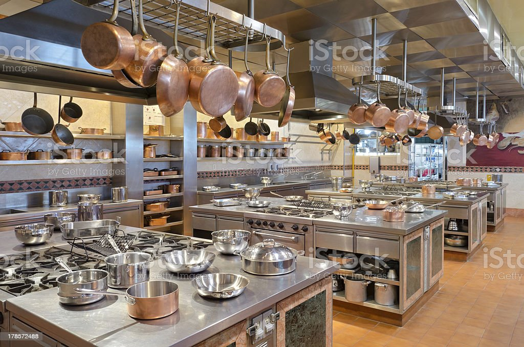 Culinary Kitchen stock photo