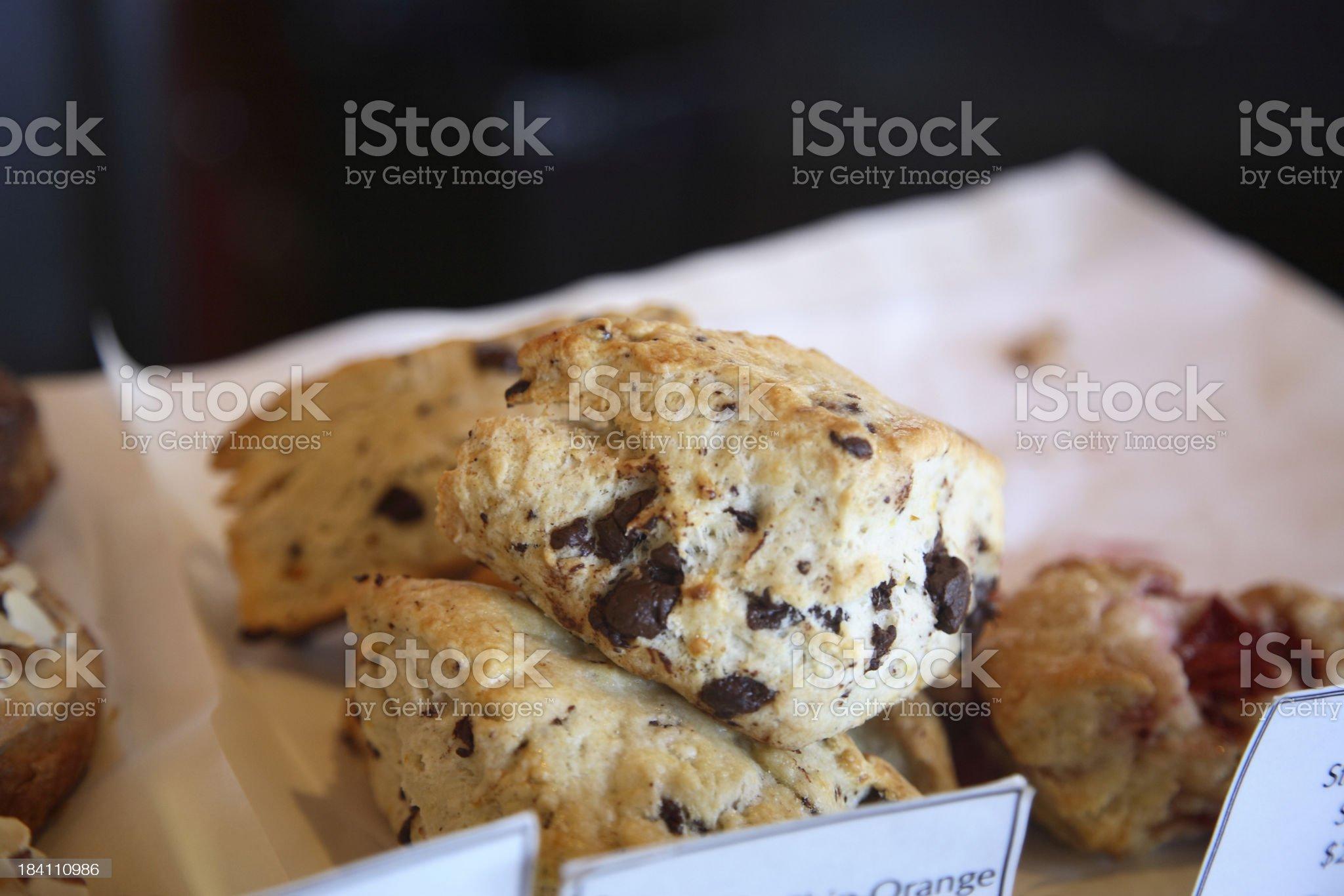 Culinary: Scones royalty-free stock photo