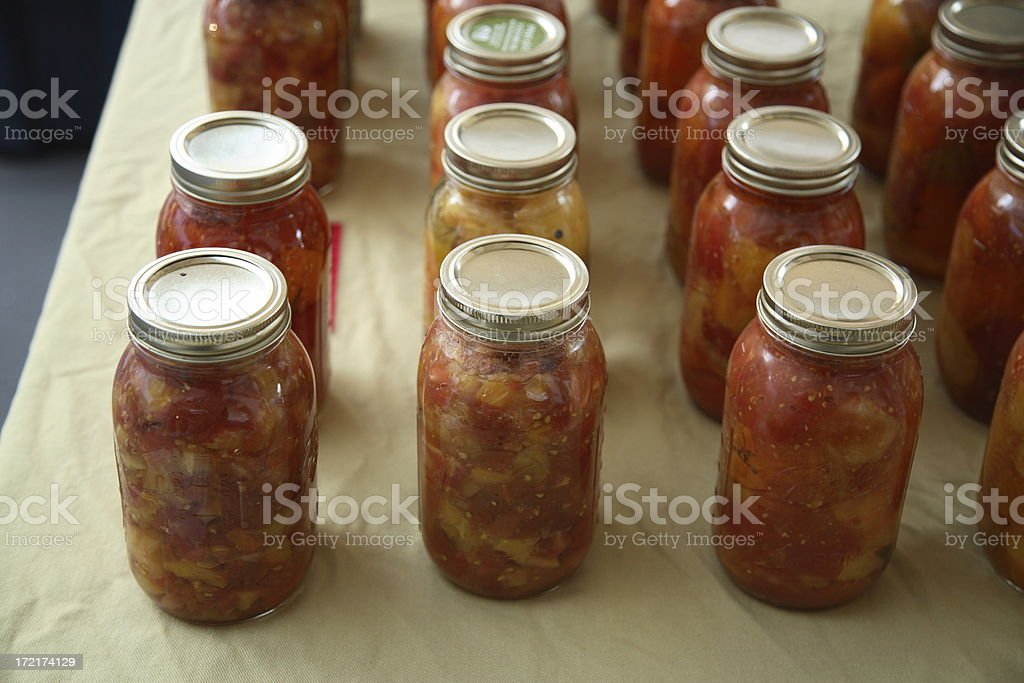 Culinary: Stewed Tomatoes royalty-free stock photo