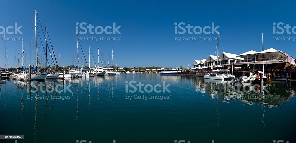 Cullen Bay, Darwin, Australia royalty-free stock photo