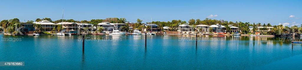 Cullen Bay, Darwin, Australia stock photo