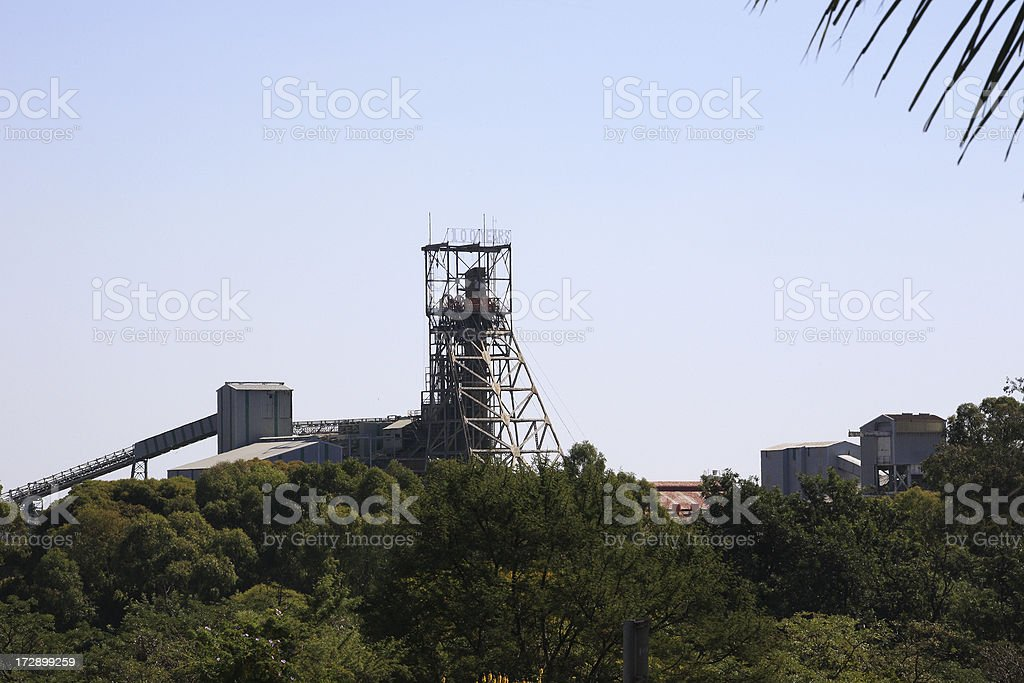 Cullinan Diamond Mine South Africa stock photo