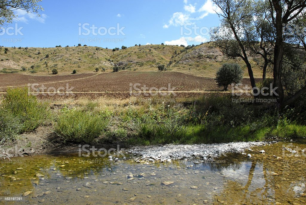 Cultivated Land (Click for more) royalty-free stock photo