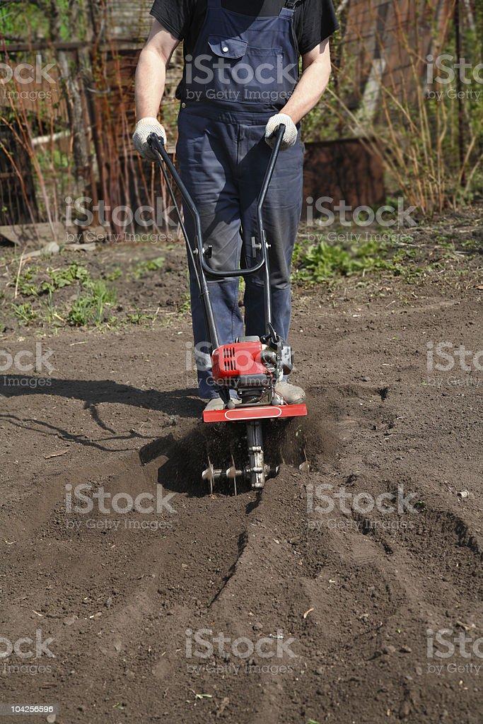 Cultivators stock photo