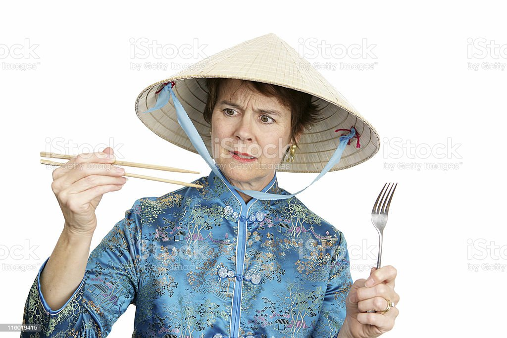 Cultural Confusion royalty-free stock photo