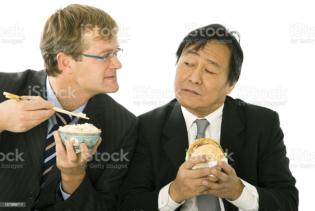 Cultural exchange royalty-free stock photo
