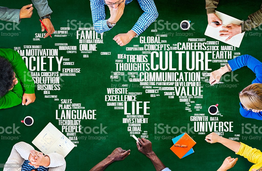Culture Community Ideology Society Principle Concept stock photo