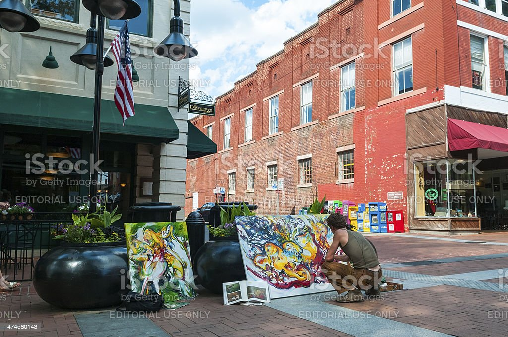 Culture in Charlottesville, Virginia stock photo
