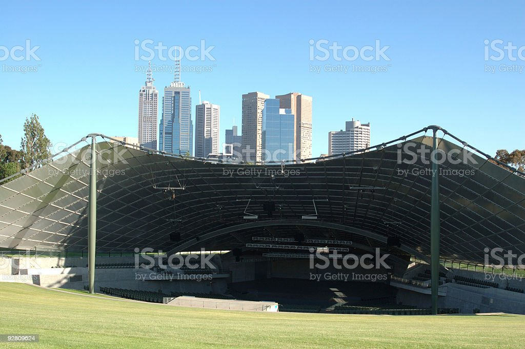 Cultured City stock photo
