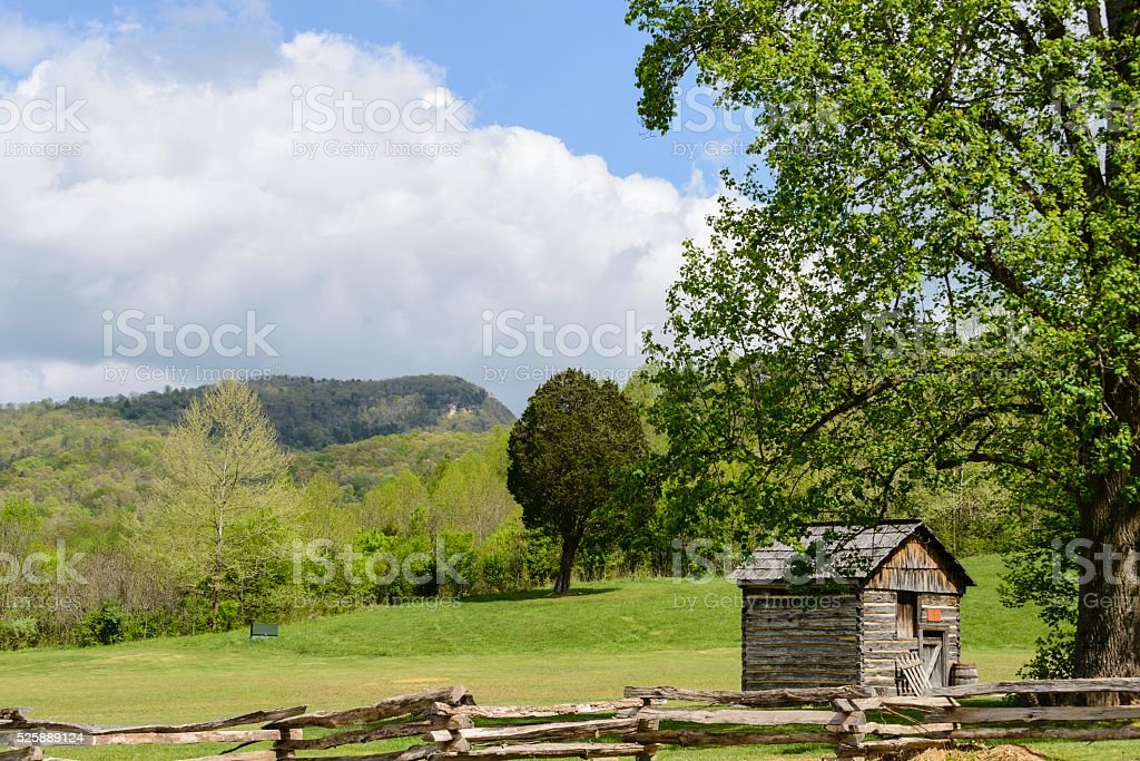 Cumberland Gap National Historical Park stock photo