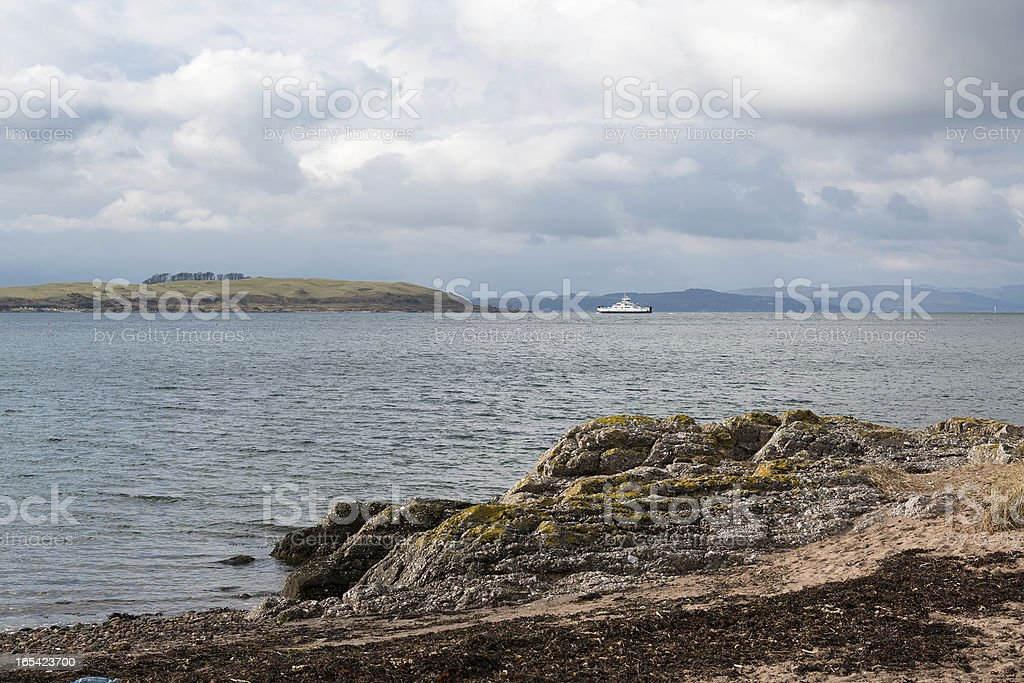 Cumbrae ferry royalty-free stock photo