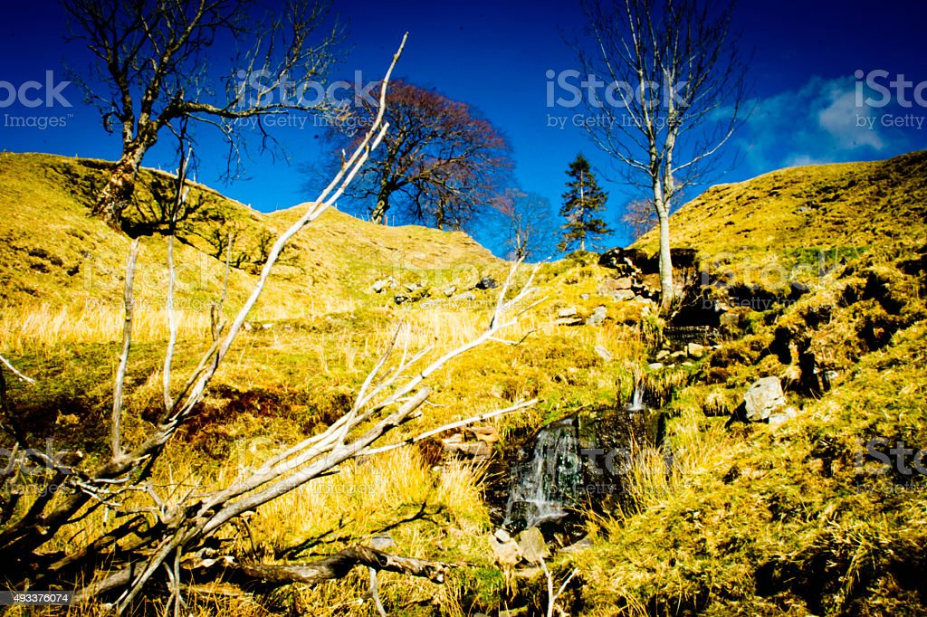 Cumbrian countryside stock photo