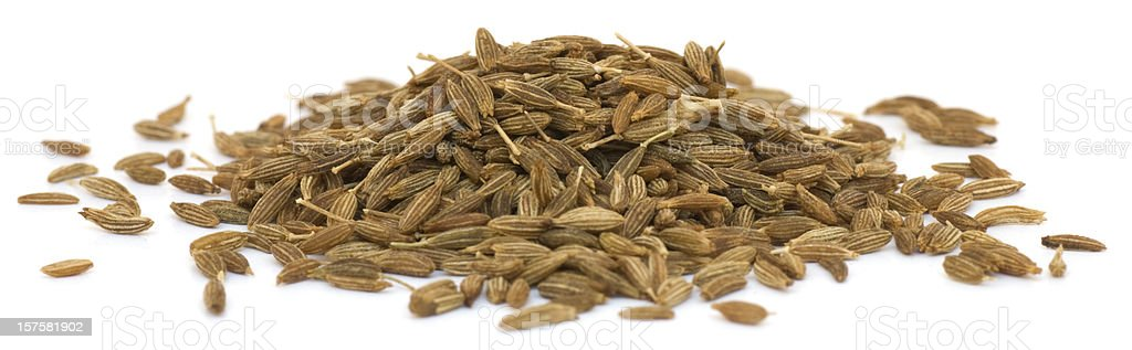 Cumin, isolated stock photo