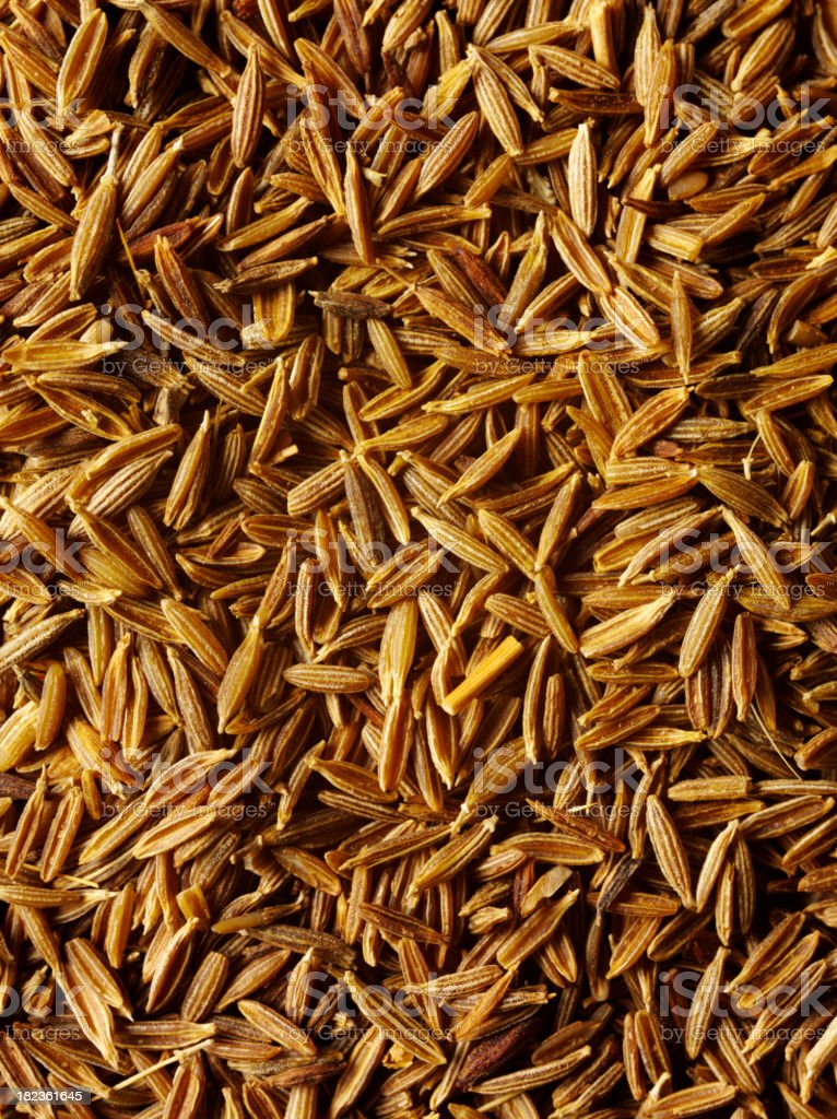 Cumin Seed Background royalty-free stock photo