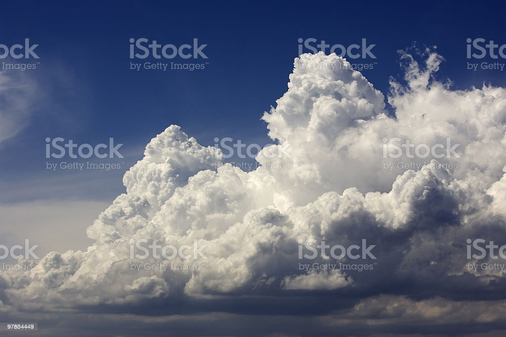 Cumulonimbus Cloud stock photo