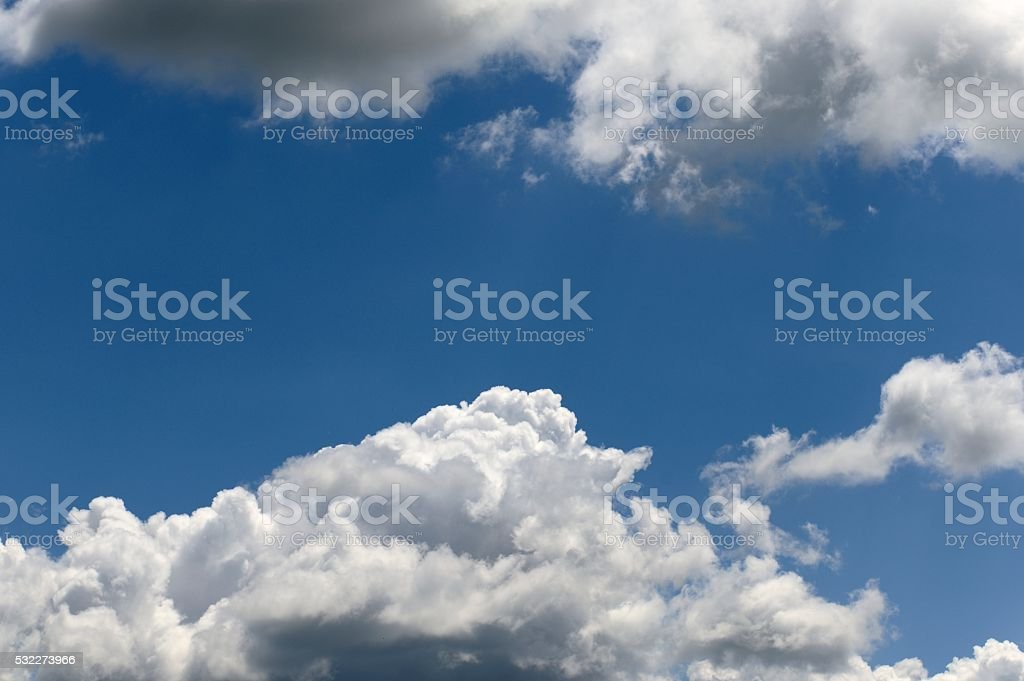 Cumulonimbus Clouds stock photo