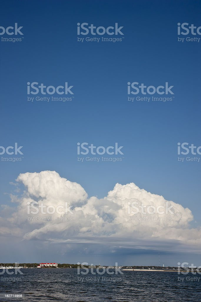 Cumulonimbus Cloudscape. stock photo